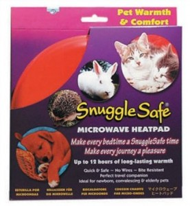 The Snuggle Safe heatpads are great, long-lasting heat sources for little kittens!